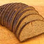 Bread on board — Stock Photo #1498875