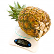 Pinapple at scale — Stock Photo