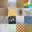 Set of different abstract backgrounds — Stock Photo