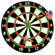 Darts - Stockfoto