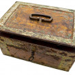 Old chest — Stock Photo
