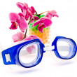 Stock Photo: Swimming glases