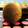 Cosmetics brush - Stock Photo