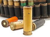 Cartridge for hunting rifle — Stock Photo