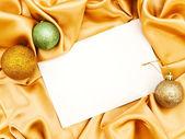 Blank Christmas invitation — Stock Photo