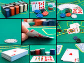 Casino set — Stock Photo