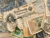 Old money background — Stock Photo