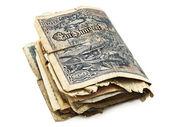 Dinheiro antigo — Fotografia Stock