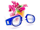 Swimming glases — Stock Photo