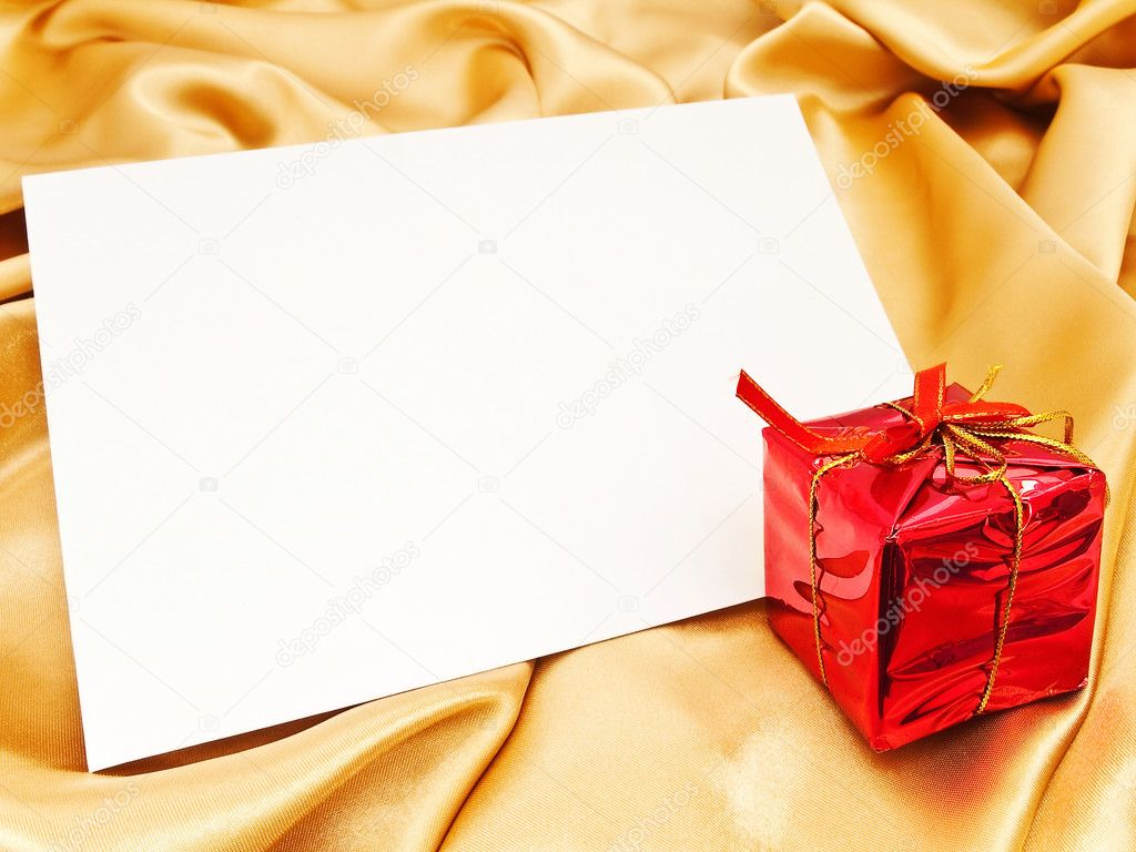 blank christmas invitation stock photo © s razvodovskij 1498536 blank christmas invitation stock image