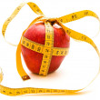 Diet apple gift — Stock Photo #1500207