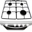 Stock Photo: Gas stove