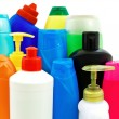 Stock Photo: Toiletries bottles