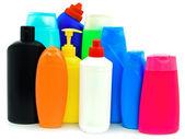 Toiletries bottles — Stock Photo