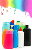 Toiletries bottles — Stock Photo