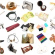 Stock Photo: Everyday items set