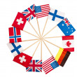 Stock Photo: Flags