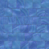 Blue mosaic background — Stock Photo