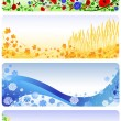 Royalty-Free Stock Vector Image: Four seasons