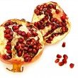Broken  pomegranate — Stock Photo