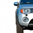 Front of half car — Stock Photo