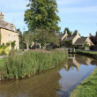 Lower Slaughter - Cotswolds — Stock Photo