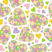 Valentines seamless background — Wektor stockowy