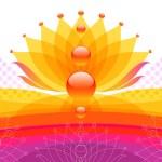 抽象花卉设计 — 图库矢量图片