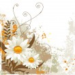 Royalty-Free Stock Vector Image: White flowers