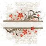 Decorative floral frame — Stock Vector #1723160