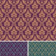 Damask seamless pattern — Stockvectorbeeld