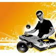Stock Vector: DJ