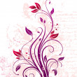 Royalty-Free Stock Imagem Vetorial: Vector floral ornate branch
