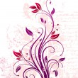 Royalty-Free Stock Imagen vectorial: Vector floral ornate branch