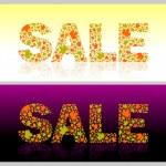 Autumn seasons sale — Stock Vector