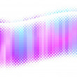 Abstract multicolor halftone waves — Vector de stock #1792384