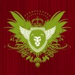 Royalty-Free Stock Imagen vectorial: Heraldry with lion head