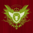 Royalty-Free Stock Vectorafbeeldingen: Heraldry with lion head