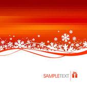 Winter holidays illustration — Stock Vector