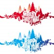 Christmas & New year — Stock Vector