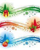 クリスマス デザイン要素 — ストックベクタ