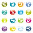 Royalty-Free Stock Vector Image: Nature & eco iconset