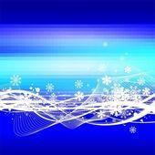Snowstorm — Stock Vector