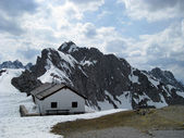 Austrian alps near Innsbruck — Stock Photo
