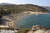 Vai beach in Crete — Stock Photo