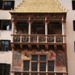 Golden roof house in Innsbruck — Stock Photo