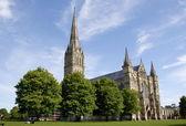 Salisbury Cathedral — Stock Photo