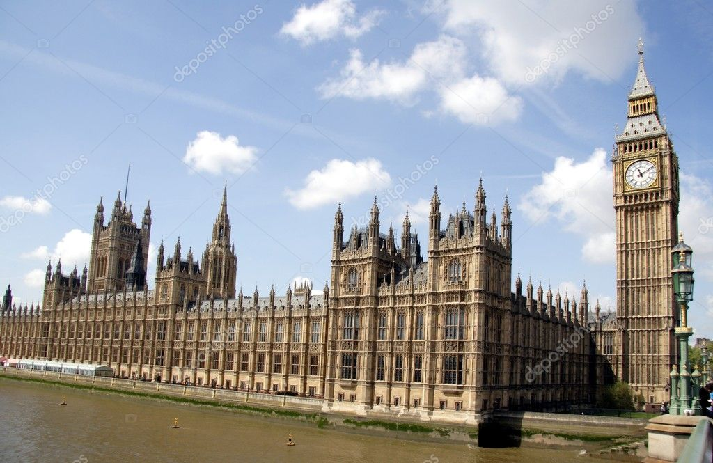 Houses of Parliament in London — Stock Photo #2190434