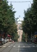 St Marko Church, Belgrade, Serbia. — Stock Photo