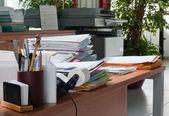 Mappen van office-bureaublad — Stockfoto